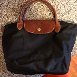 Small Longchamp black bag